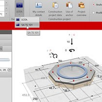 Wurth Anchor Design Software - Calculation method in accordance with SA TS 101 (AS 2516) or EOTA