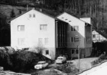 Wurth company building in Kuenzelsau, Southern Germany in 1952