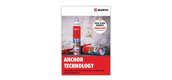Browse through the brochure Wurth Anchor Technology