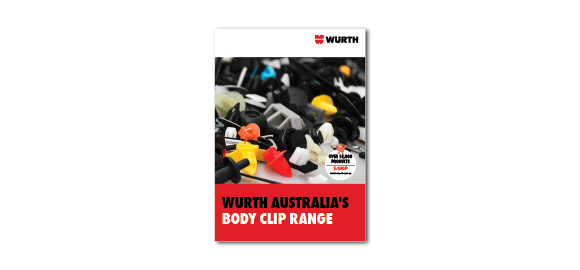 Take a look into the booklet Wurth Body Clip Range
