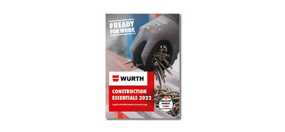 Flip through the brochure Wurth Construction Essentials