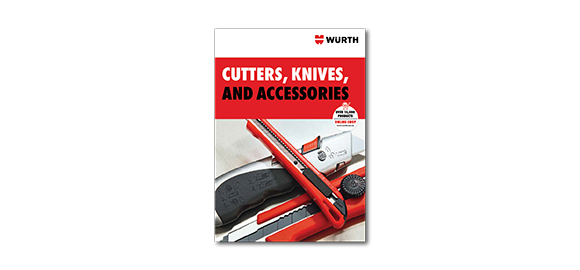 Flip through the Brochure Wurth Cutters, Knives and Accessories