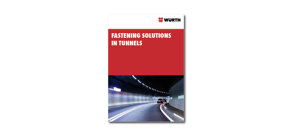 Flip through the brochure Wurth Fastening Solutions in Tunnels
