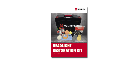 Browse through the brochure Wurth Headlight Restoration Kit