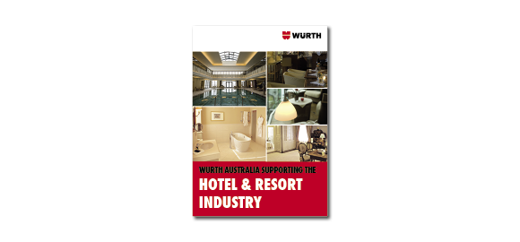 Flick through the booklet Wurth Hotel & Resort Industry