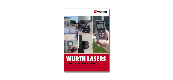 Flip through the booklet Wurth Lasers