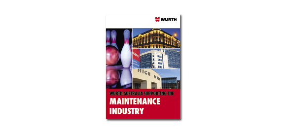 Take a look into the booklet Wurth Maintenance Industry