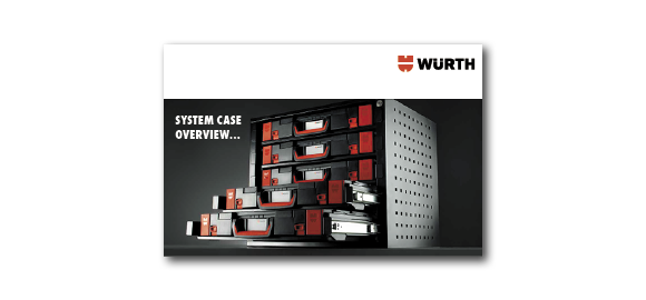 Flip through the booklet Wurth ORSY System Case Assortment