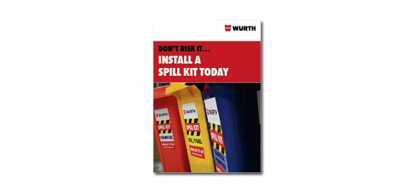 Look through the brochure Wurth Spill Kit Range