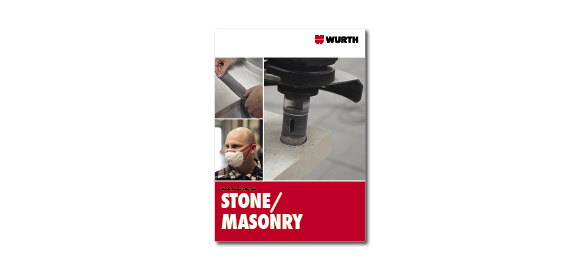 Take a look into the booklet Wurth Stone/Masonry