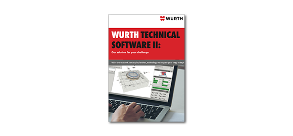 Flip through the brochure Wurth Technical Software