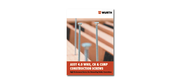 Flick through the booklet Wurth Timber Screws ASSY SK and ASSY VG