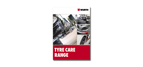 Take a look into the booklet Wurth Tyre Maintenance Range