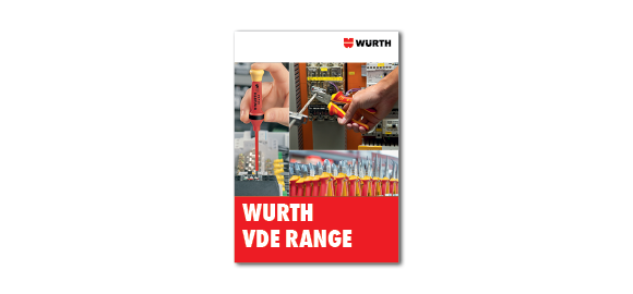 Browse through the brochure Wurth VDE Range