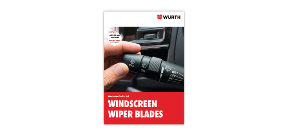 Browse through the brochure Wurth Windscreen Wiper Blades