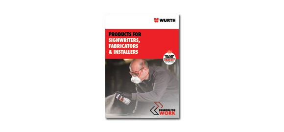Check out Wurth's range of products for SIgnwriters